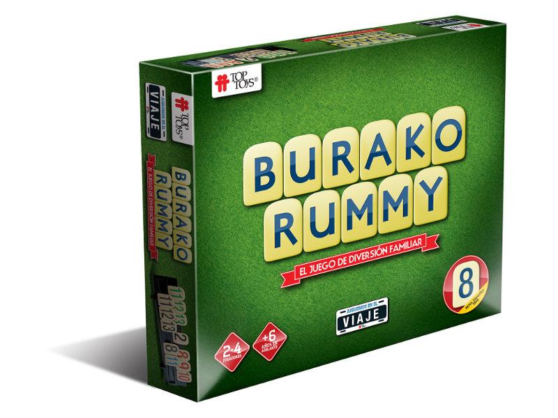 Burako Rummy Edición Viaje de TOP TOYS