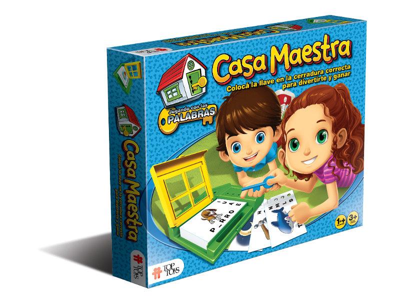 Casa Maestra: Jugando con Palabras - Juego Infantil   TOP TOYS