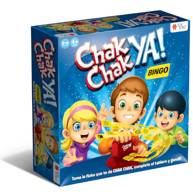 Chak Chak Ya! Bingo - Juego Infantil | TOP TOYS