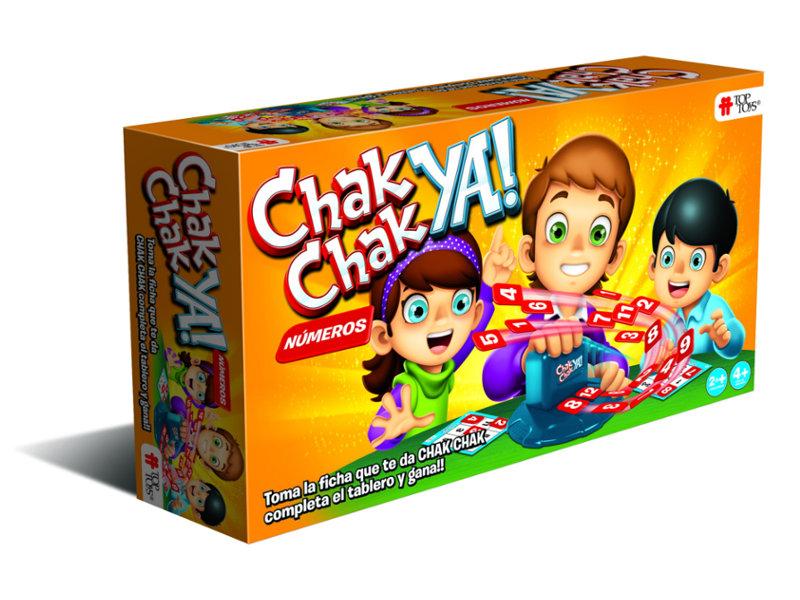 Chak Chak Ya! Números - Juego Infantil | TOP TOYS