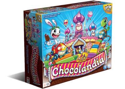 Chocolandia: Juego de Mesa Infantil de Colores