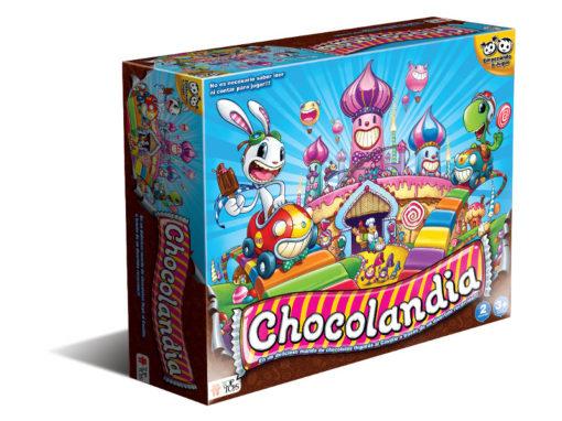 Chocolandia: Juego de Colores