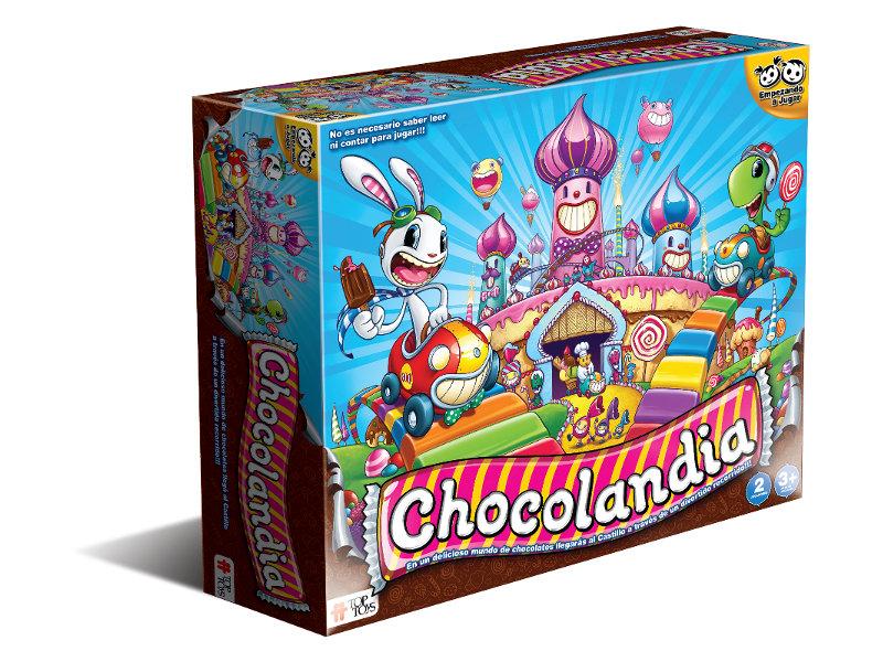 Chocolandia: Juego de Mesa Infantil de Colores de TOP TOYS