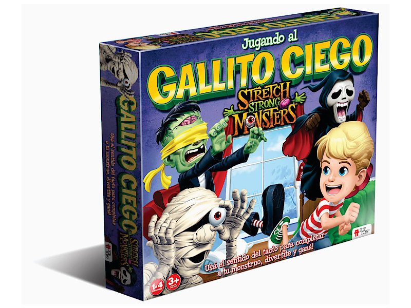 Gallito Ciego: Stretch Strong Monsters - Juego Infantil | TOP TOYS