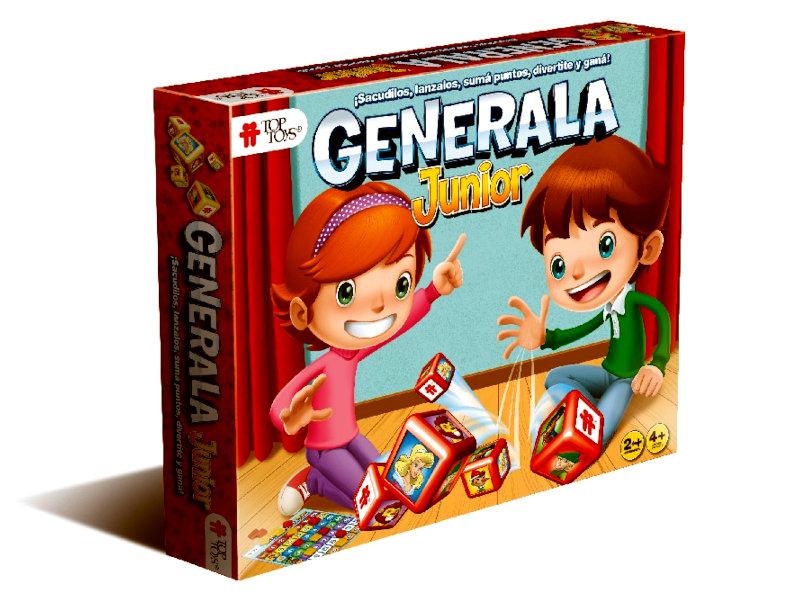 Generala Júnior - Dados, Animales, Números y Colores