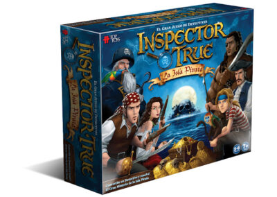 Inspector True: La Isla Pirata – Juego Familiar