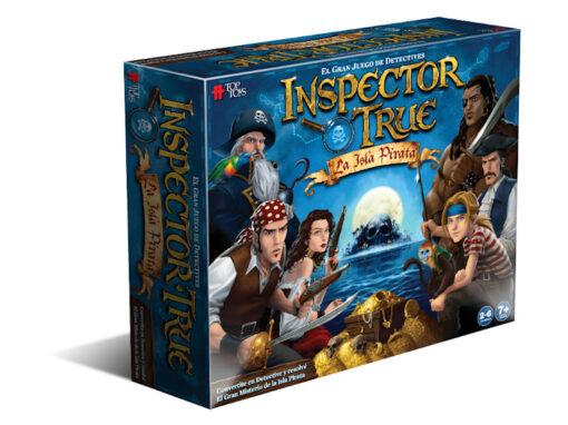 Inspector True: La Isla Pirata – Juego de Mesa Familiar