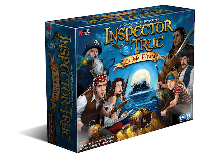 Inspector True: La Isla Pirata - Juego Familiar | TOP TOYS