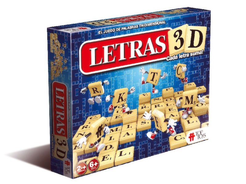 Letras 3D - Juego de Palabras | TOP TOYS