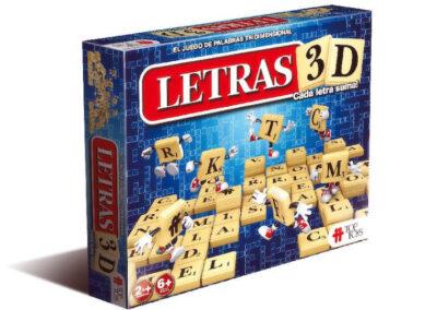 Letras 3D – Juego de Palabras Tridimensional