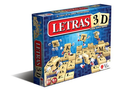 Letras 3D: Juego de Palabras Tridimensional