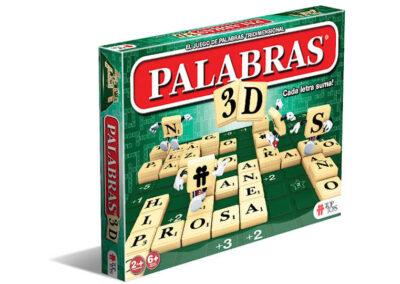 Palabras 3D: Juego de Palabras Tridimensionales