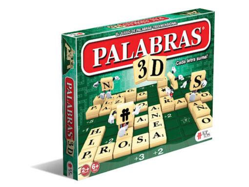 Palabras 3D: Juego de Palabras Tridimensional