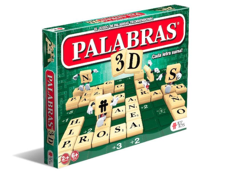 Palabras 3D: Juego de Palabras Tridimensional | TOP TOYS