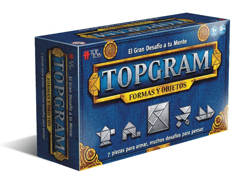 Topgram: Formas y Objetos - Juego de Ingenio | TOP TOYS