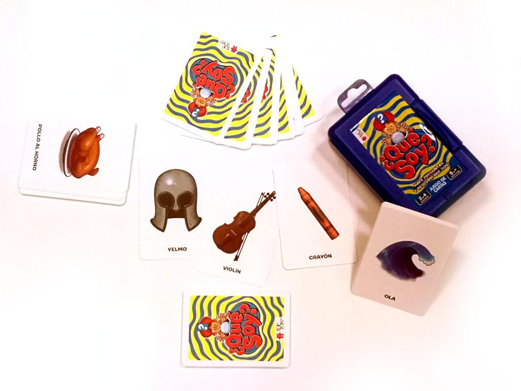 ¿Qué Soy? Componentes - Juego de Cartas | TOP TOYS