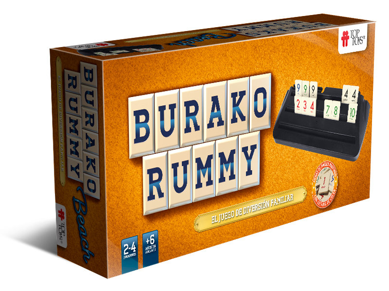 Burako Beach & Rummy de TOP TOYS