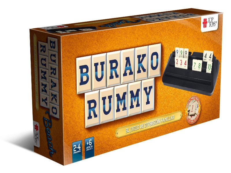 Burako Beach & Rummy de TOP TOYS