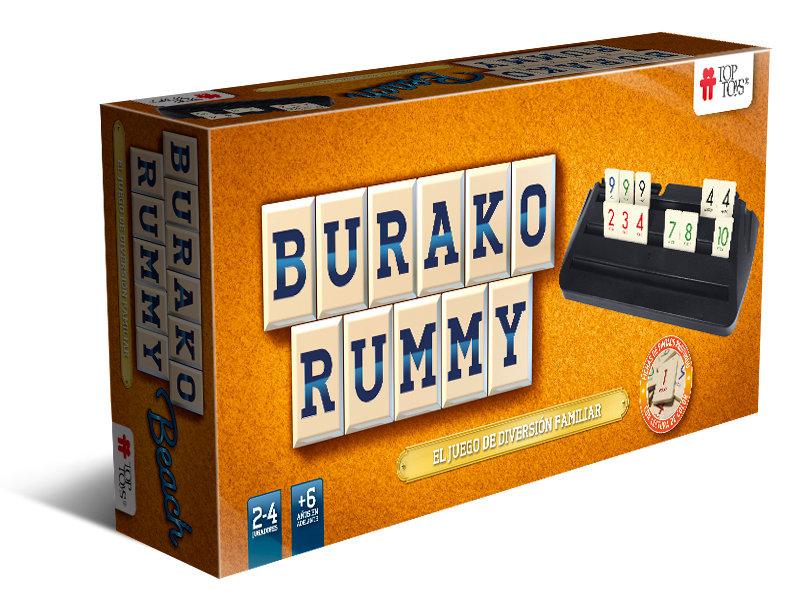 Burako Rummy: Beach - Juego de Mesa Familiar | TOP TOYS