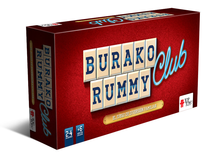 Burako Rummy Edición Club de TOP TOYS