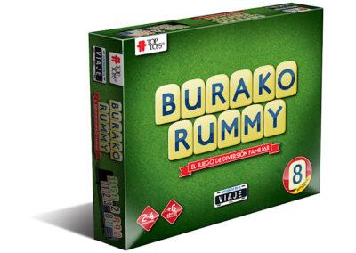 Burako Rummy: Viaje – Juego de Mesa Familiar