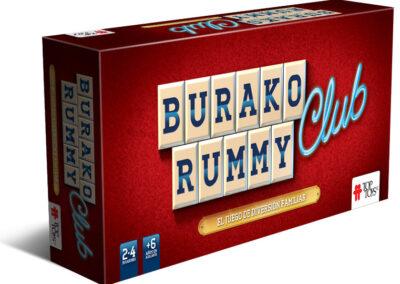 Burako Rummy: Club – Juego de Mesa Familiar
