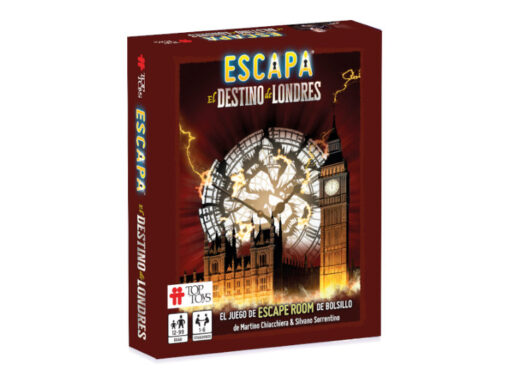 ESCAPA El Destino de Londres – Escape Room