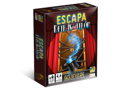 ESCAPA: Detrás del Telón – Escape Room