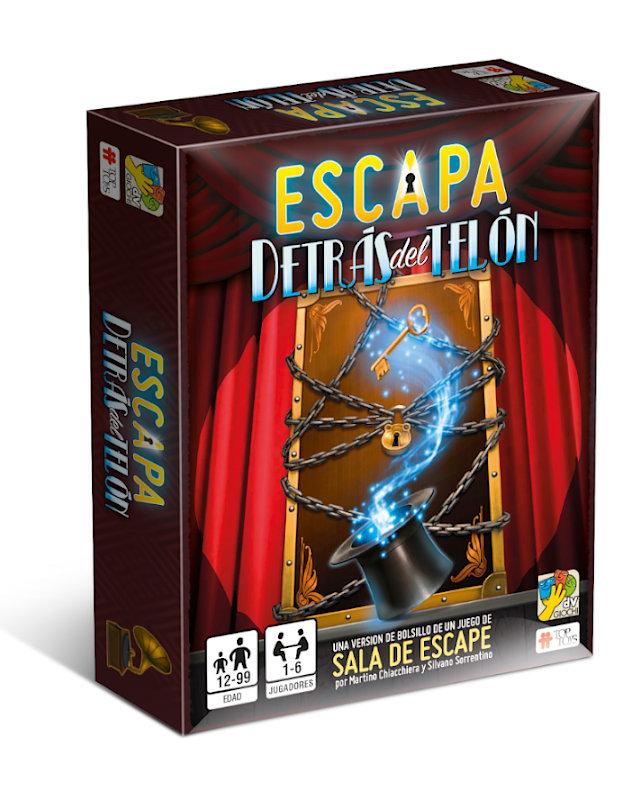 ESCAPA: Detrás del Telón - Escape Room | TOP TOYS