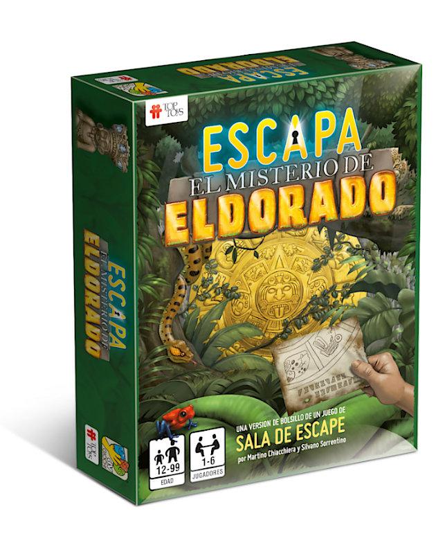 ESCAPA: El Misterio de El Dorado - Escape Room | TOP TOYS