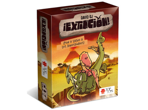 ¡Extinción! ¡Pon a Salvo a los Dinosaurios! Juego de Cartas