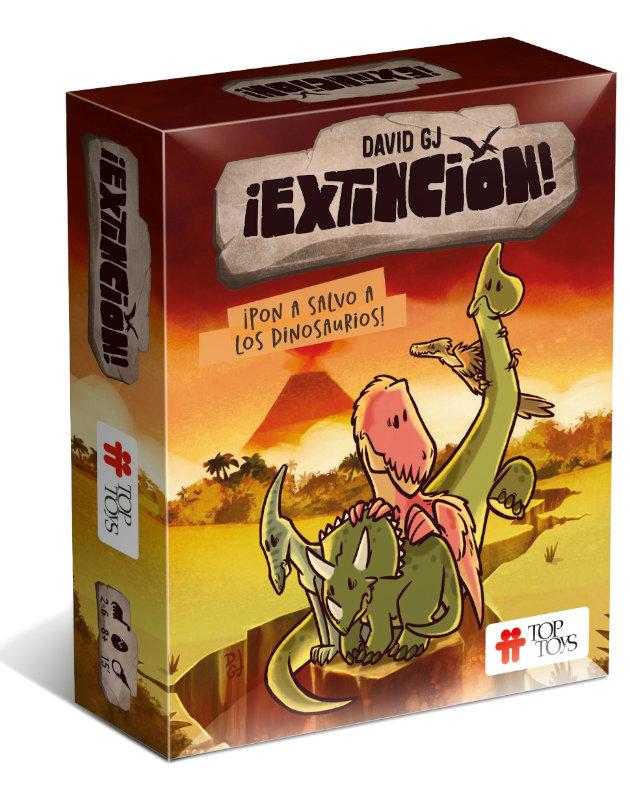 ¡Extinción! Pon a Salvo a los Dinosaurios - Juego de Cartas | TOP TOYS
