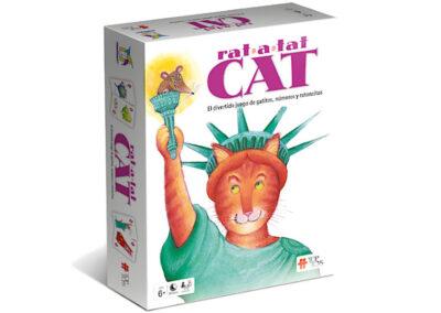 Rat-a-tat Cat: Gatitos, Números y Ratoncitos – Juego de Cartas