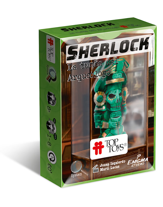Sherlock: La Tumba del Arqueólogo - Escape Room   TOP TOYS