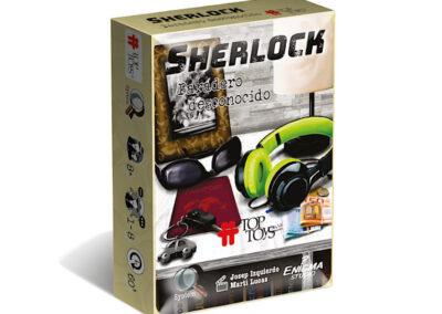 Sherlock: Paradero Desconocido – Escape Room