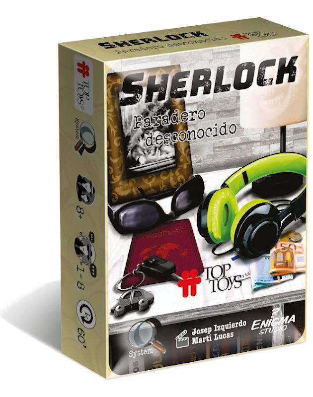 Sherlock: Paradero Desconocido - Escape Room | TOP TOYS
