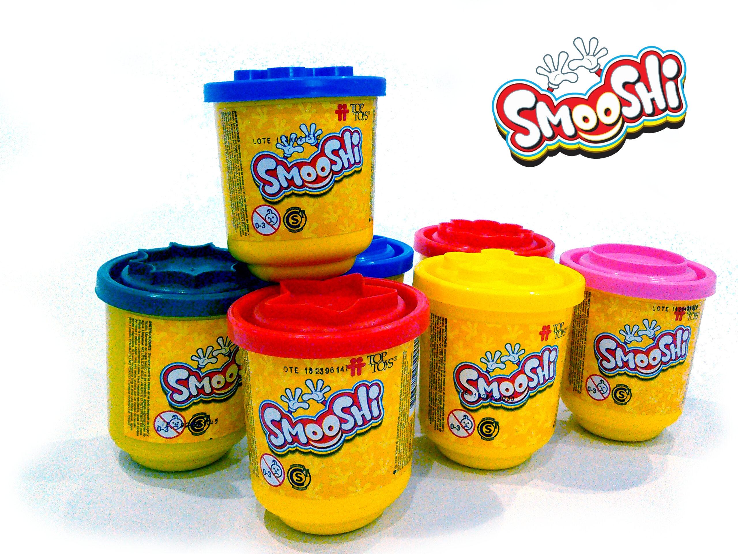 Smooshi Mix Colores Potes Simples - ¡Tu súpermasa para jugar! Juego Infantil | TOP TOYS