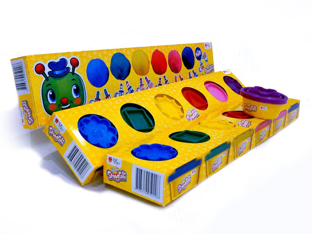 Smooshi Arco Iris Mix Colores ¡Tu súpermasa para jugar!   TOP TOYS