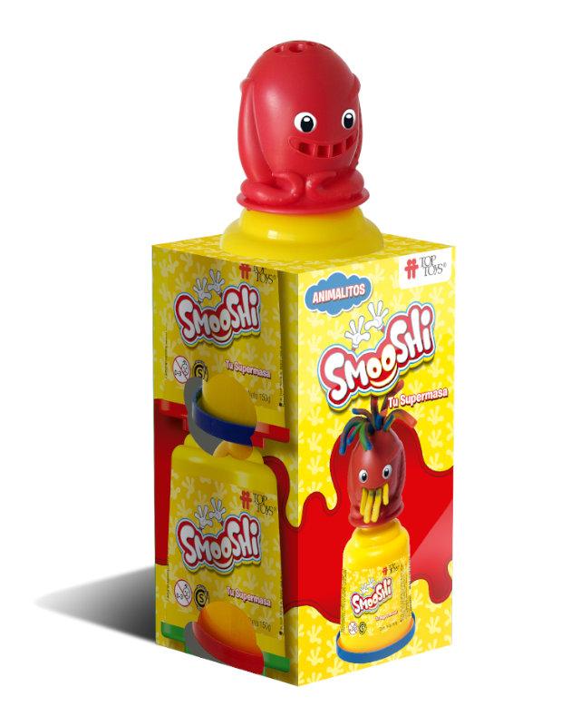 Smooshi Animalitos 2 Potes - Tu súpermasa - Juego Infantil   TOP TOYS