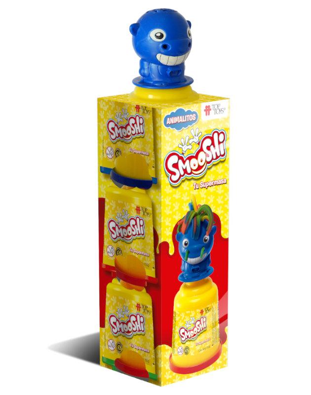 Smooshi Animalitos 3 Potes - Tu súpermasa - Juego Infantil   TOP TOYS