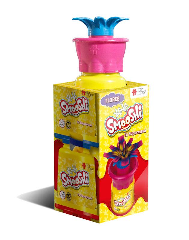 Smooshi Flores 2 Potes - Tu súpermasa - Juego Infantil | TOP TOYS