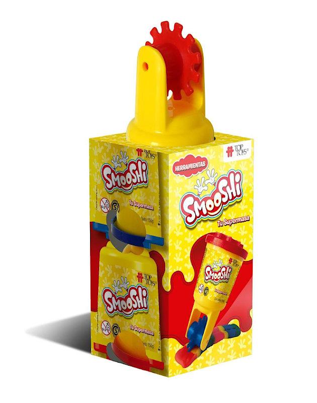 Smooshi Mix Herramientas 2 Potes - Tu súpermasa - Juego Infantil   TOP TOYS