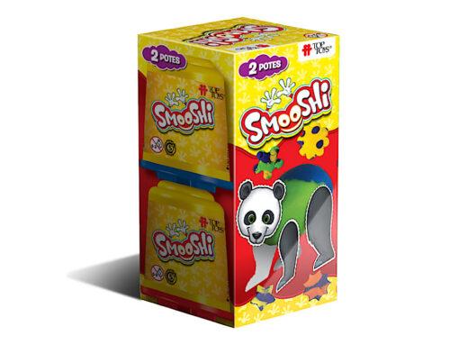 Smooshi Pack 2 Potes ¡Tu súpermasa para jugar!