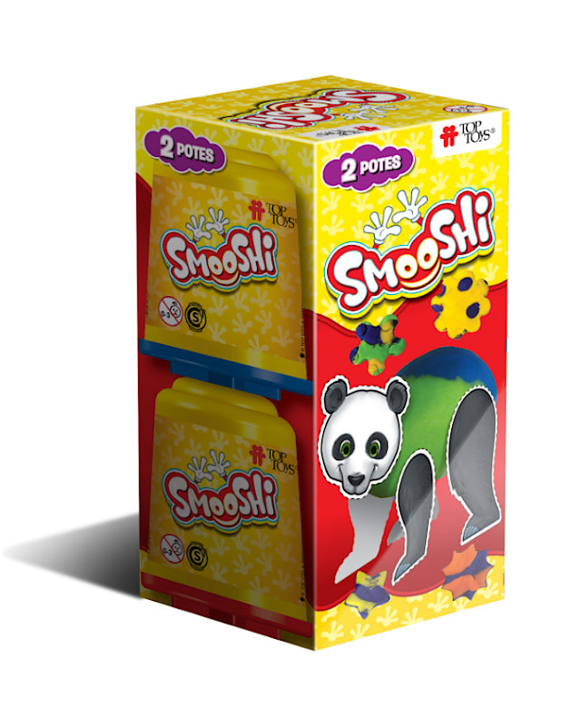 Smooshi Pack 2 Potes ¡Tu súpermasa para jugar! Juego Infantil   TOP TOYS