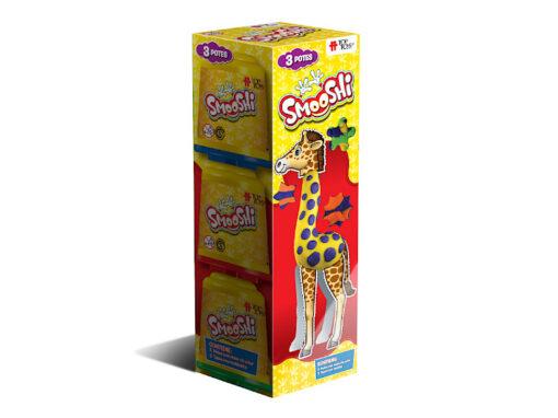 Smooshi Pack 3 Potes ¡Tu súpermasa para jugar!